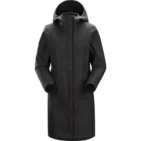 7374df7e704fd2 Arc teryx Embra Coat Women Black Heather